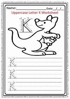 letter k worksheets for preschoolers 23695 uppercase letter k worksheets free printable preschool and kindergarten