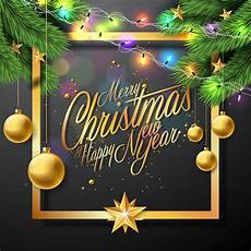 merry christmas illustration black background download free vectors clipart graphics