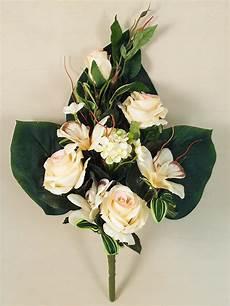 mazzo e orchidee artificiali decorativo cespuglio