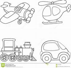 transportation vehicles coloring pages 16403 transport coloring book stock vector illustration 54355066