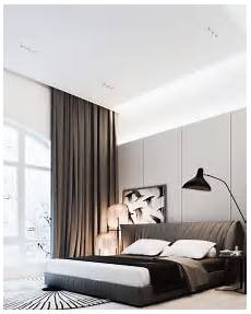 Gardinen Modern Schlafzimmer - 15 modern bedroom curtains and drapes houz buzz