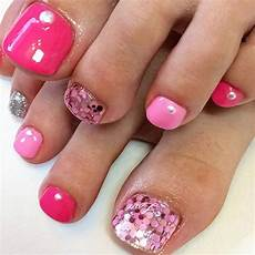 21 elegant toe nail designs for spring and summer page 2