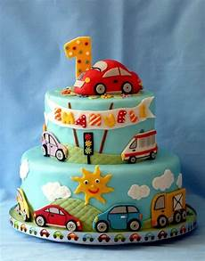 15 Baby Boy Birthday Cake Ideas