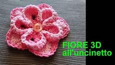 fiore con la a fiore 3d facile e veloce all uncinetto tutorial