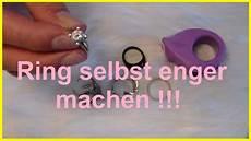 Ring Kleiner Machen - ring selbst enger machen ring selber kleiner machen