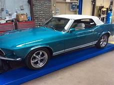 Bullitt Classic Cars  1969 Ford Mustang Convertible