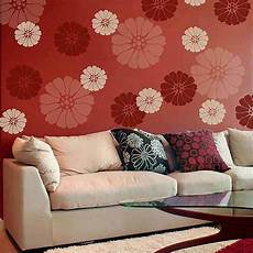 Lovely Bloom Floral Wall Stencil Small Easy