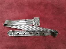 l impero turco ottomano fibbia antica cintura in argento cappotto di braccia di