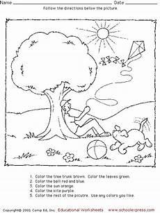 following directions worksheets 11704 schoolexpress 19000 free worksheets create your own worksheets following