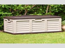 Plastic storage garden, plastic outdoor storage chest