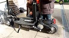 1000 watt e scooter mach 1 elektro roller