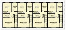 4 plex house plans four plex with covered entries 67714mg architectural