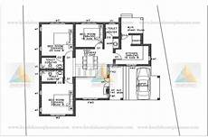 free kerala house plan for spacious 3 bedroom 3 bedroom budget home in 1300sqft with multiple elevation
