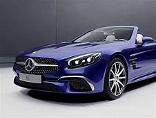 Mercedes Benz SL And SLC Get Special Designo RedArt