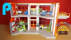 Playmobil Ausmalbild Krankenhaus Kinderklinik Mit Einrichtung 6657 Playmobil City