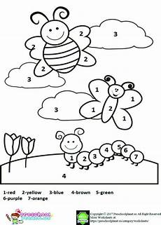 color by number worksheets free kindergarten 16281 free printable worksheet for coloring pages preschool colors coloring pages