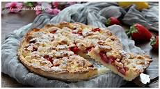 crostata crema pasticcera e fragole crostata sbriciolata con crema pasticcera e fragole senza glutine youtube