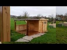 cabane de jardin en palettes