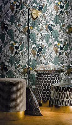 ikea papier peint 36021 margay casamance en 2019 papier peint couloir papier
