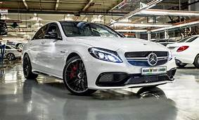 Check Out The First Mercedes AMG C63 Built In South Africa