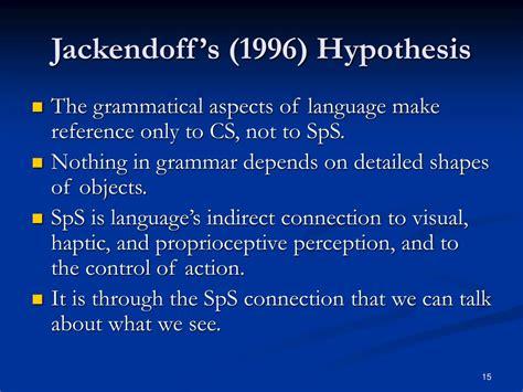 Jackendoff 2002