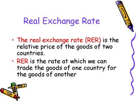 Real Exchange Rate Volatility