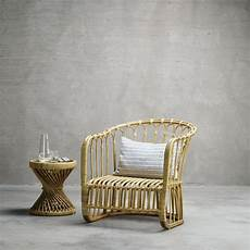 lounge chair in rattan 80 x 82 x h 35 82 cm nature