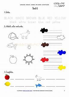 esl worksheets for colors 12987 free printable beginner esl pre junior worksheet 6 colors