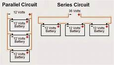 electrical engineering world battery connections parallel for high current and series for high
