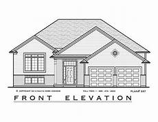walkout bungalow house plans 2 bedroom raised bungalow house plan rb337 1501 sq feet