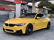 Bmw M4 2019 - 2019 bmw m4 competition in speed yellow getting its
