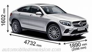 Mercedes Benz GLC Coup&233 2016 Dimensions Boot Space And