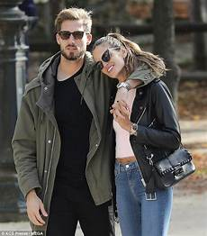 izabel goulart cuddles up to kevin trapp in daily