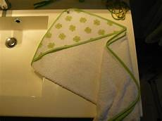 drap de bain bébé drap de bain b 233 b 233 cr 233 ation perso photo de couture