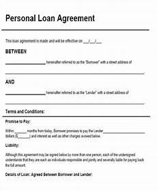 agreement form sle