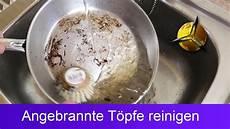 Angebranntes Im Topf - angebrannten topf pfanne einfach reinigen diy