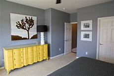 a trendy color combo grey and yellow perfect for both bold and serene interiors