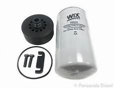 01 16 6 6l duramax wix 2 micron fuel filter conversion kit