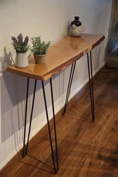 fabriquer une console en bois 2 jambes acier 233 pingle pour les adeptes de
