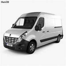 renault master panel 2010 3d model vehicles on hum3d