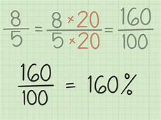 3 ways to convert an improper fraction to percent wikihow