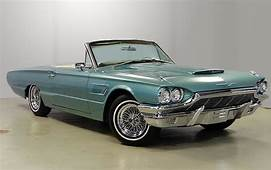 1965 Thunderbird Convertible White Interior Kelsey Hayes