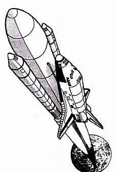 columbia rocket ship space shuttle coloring page