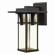 hinkley lighting manhattan 1 light outdoor wall lantern