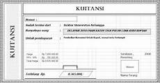 site contoh kwitansi standard