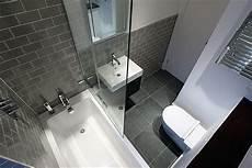 Grey Metro Tiles Bathrooms Bathroom Layout Small