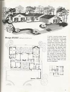 vintage ranch house plans vintage house plans mid century homes vintage homes