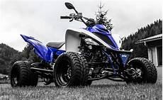 Umgebautes Motorrad Yamaha Yfm 700 R Kuma Handel
