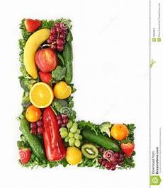 alphabet de fruits et l 233 gumes photo stock image du fond