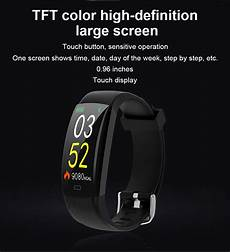 Bakeey Color Screen Wristband Rate bakeey f64c single touch color screen wristband rate